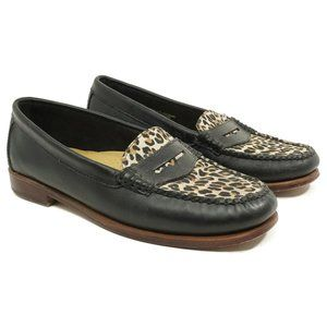 Weejuns Bass Womens Penny Loafer Flats Size 6.5 M